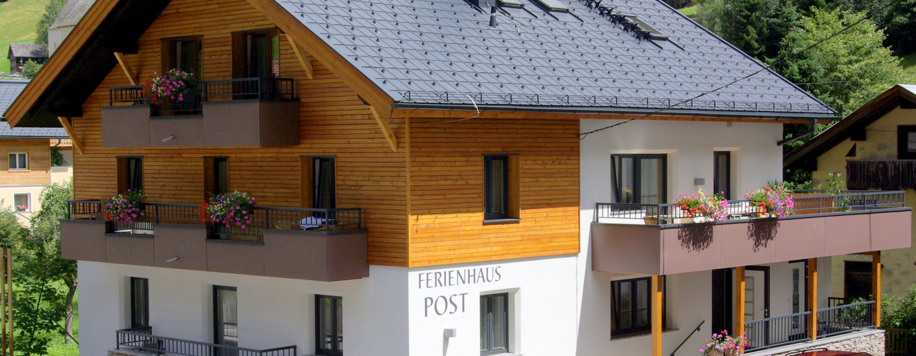 Ferienhaus Post: double rooms, triple rooms, family rooms Ischgl