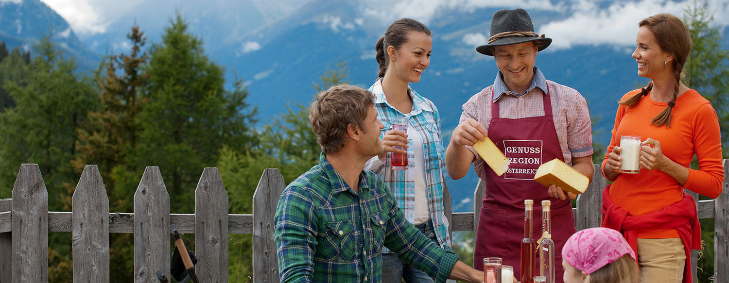 Culinary Summer: Your Summer Holidays in See, Ischgl. Hotel.